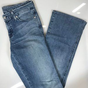 7 FOR ALL MANKIND boot cut jeans (size 28)
